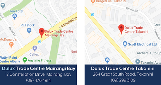 Dulux Trade Centres Avista Stockists