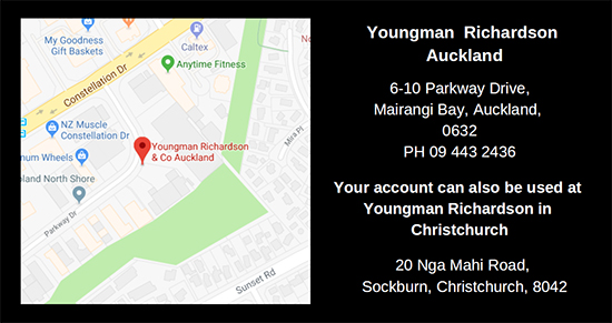 Youngman Richardson & Co Auckland location