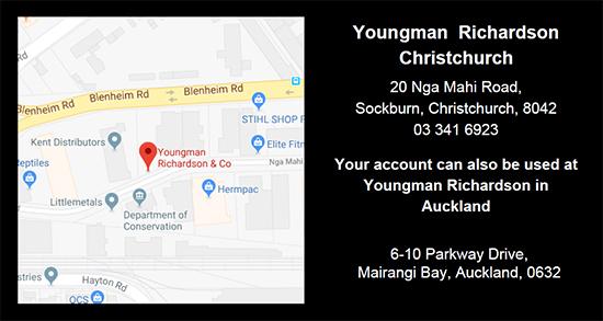 Youngman Richardson & Co Christchurch