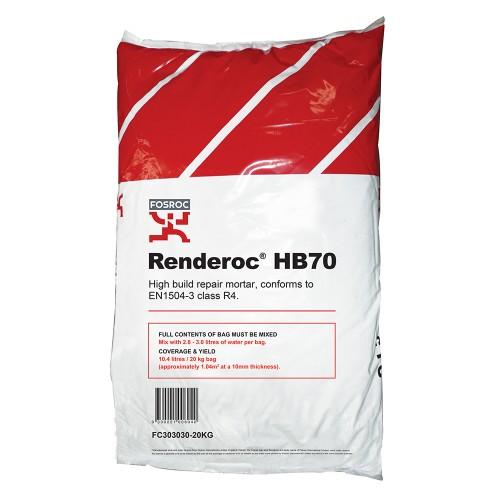 Parchem Renderoc Hb70 Concrete Patch Repair Mortar